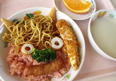 2月の行事食「鬼の子ランチ」